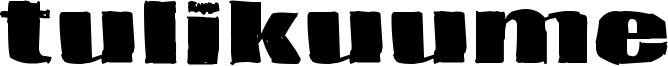 Tulikuume Font