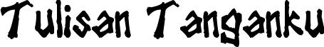 Tulisan Tanganku Font