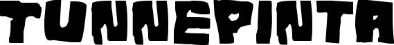Tunnepinta Font