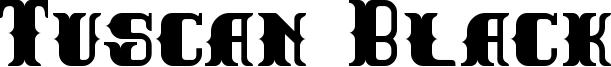 Tuscan Black Font
