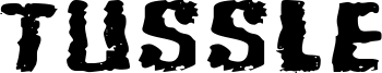 Tussle Font