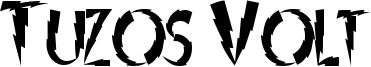 Tuzos Volt Font