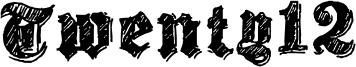Twenty12 Font