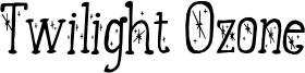 Twilight Ozone Font