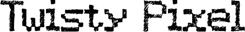 Twisty Pixel Font
