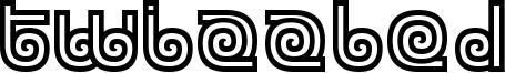 Twizzled Font