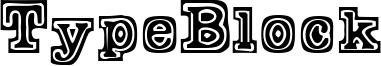 TypeBlock Font