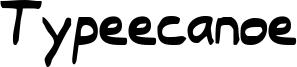 Typeecanoe Font