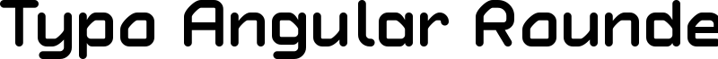 Typo Angular Rounded Bold Demo.otf