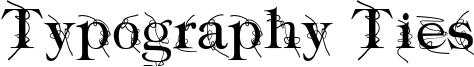Typography Ties Font