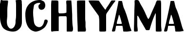 Uchiyama Font