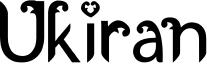 Ukiran Font