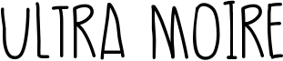 Ultra Moire Font