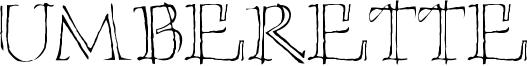 Umberette Font
