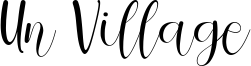 Un Village Font