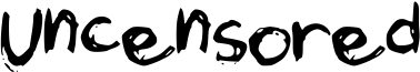 Uncensored Font