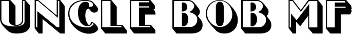 Uncle Bob MF Font
