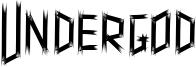 Undergod Font