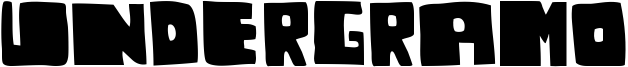 Undergramo Font