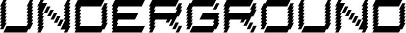 Underground Font