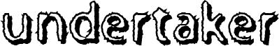 Undertaker Font