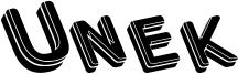 Unek Font