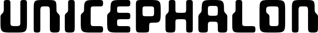 Unicephalon Font