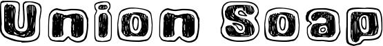 Union Soap Font
