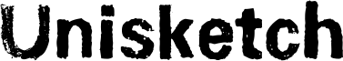 Unisketch Font