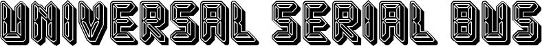 Universal Serial Bus Font
