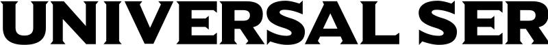 Universal Serif Font