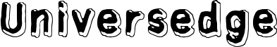 Universedge Font