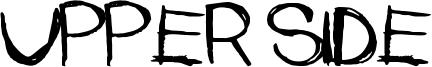 Upper Side Font