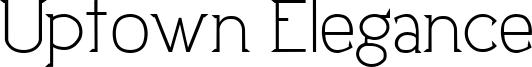 Uptown Elegance Font