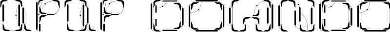 UpUp DownDown Font