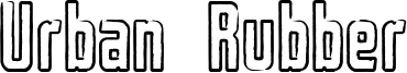 Urban Rubber Font