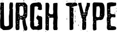 Urgh Type Font