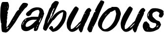 Vabulous Font