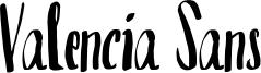 Valencia Sans Font