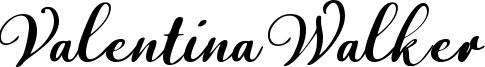 Valentina Walker Font