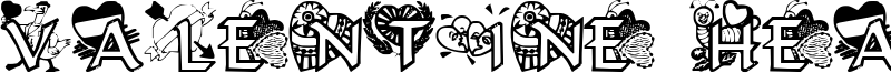 Valentine Hearts Font
