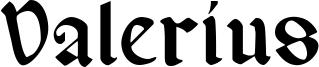 Valerius Font