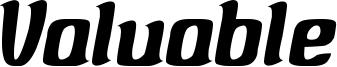 Valuable Font