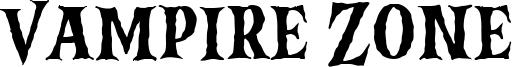 Vampire Zone Font