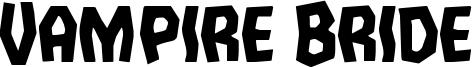 Vampire Bride Font