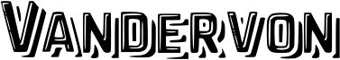 Vandervon Font