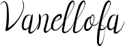 Vanellofa Font