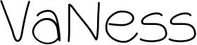 VaNess Font