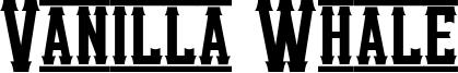 Vanilla Whale Font