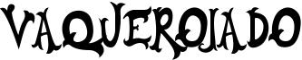 Vaquerojado Font